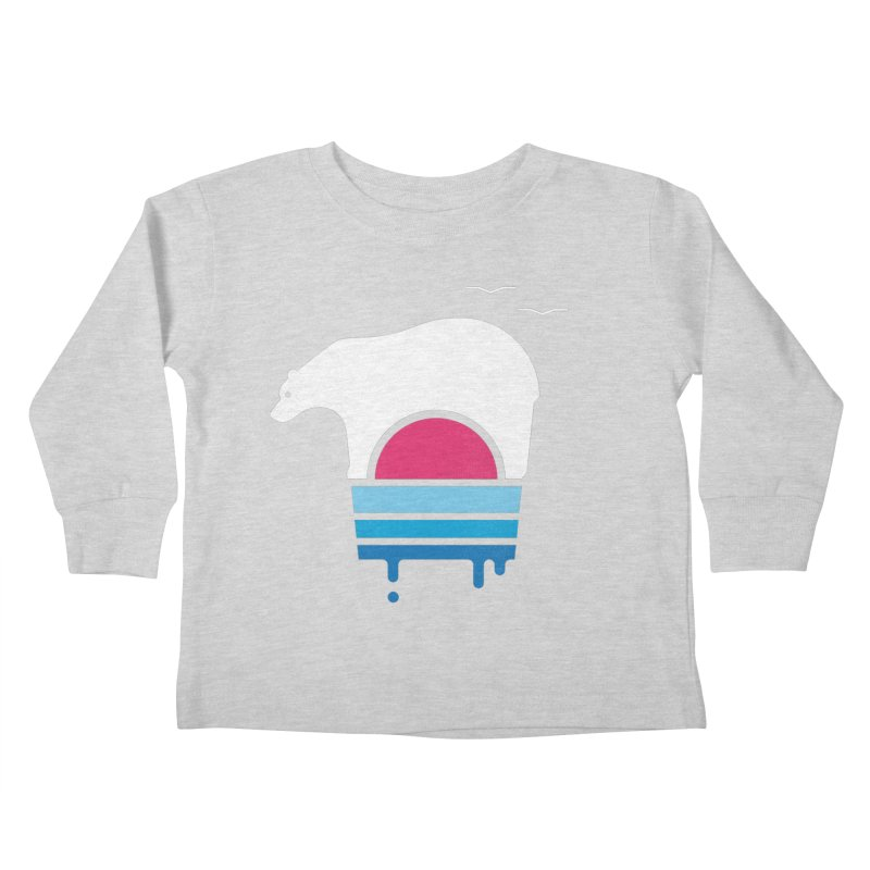 Polar Melt Kids Toddler Longsleeve T-Shirt by thepapercrane's shop