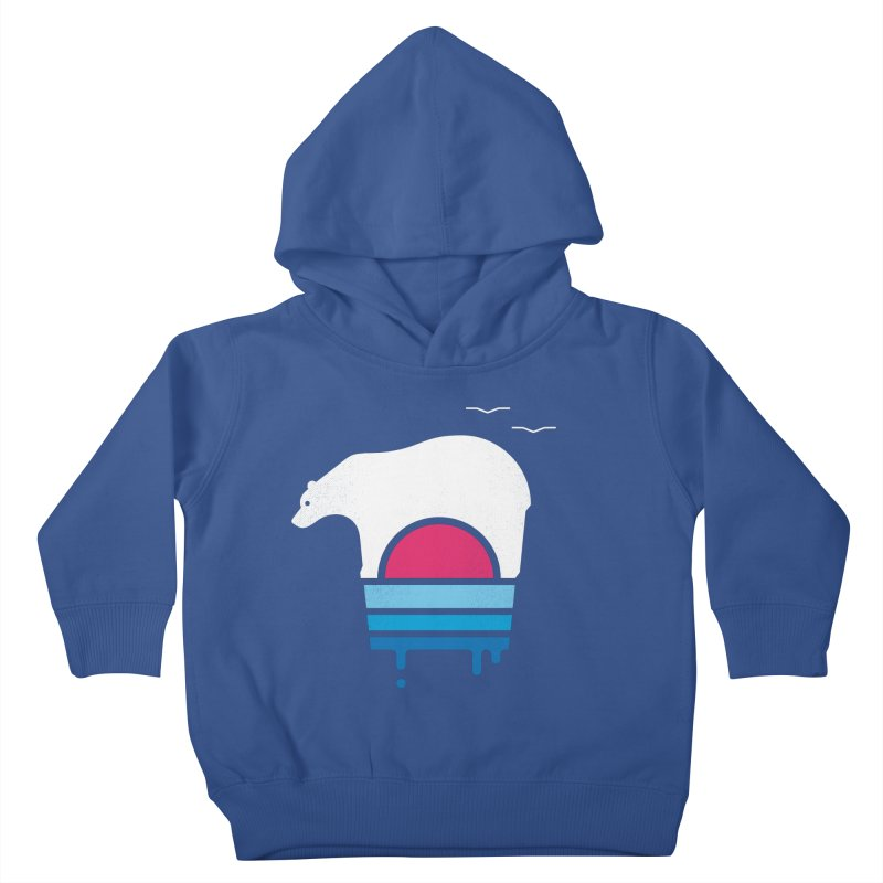 Polar Melt Kids Toddler Pullover Hoody by thepapercrane's shop