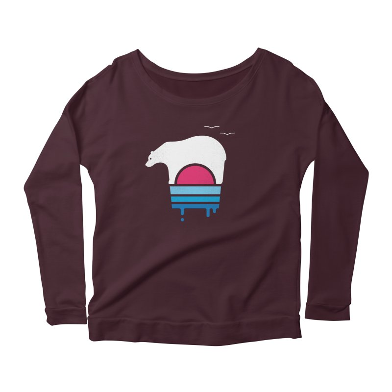 Polar Melt Women's Longsleeve T-Shirt by thepapercrane's shop