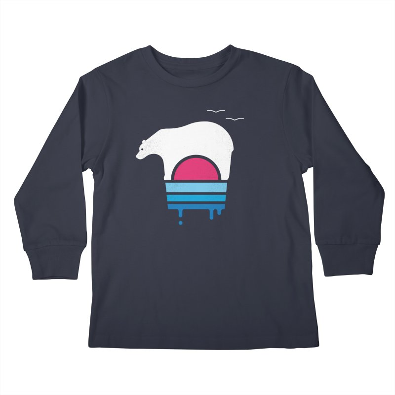Polar Melt Kids Longsleeve T-Shirt by thepapercrane's shop