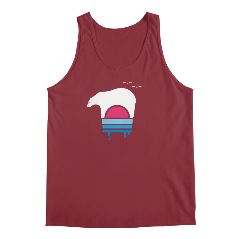 Polar Melt Men's Regular Tank by thepapercrane's shop