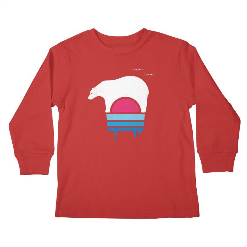 Polar Melt Kids Longsleeve T-Shirt by thepapercrane's shop