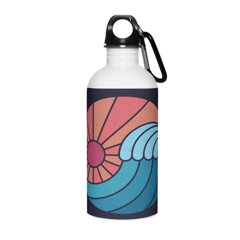 Sun & Sea Accessories Water Bottle by thepapercrane's shop