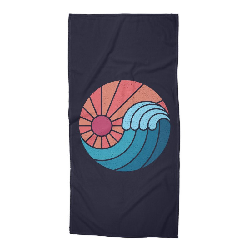 Sun & Sea Accessories Beach Towel by thepapercrane's shop