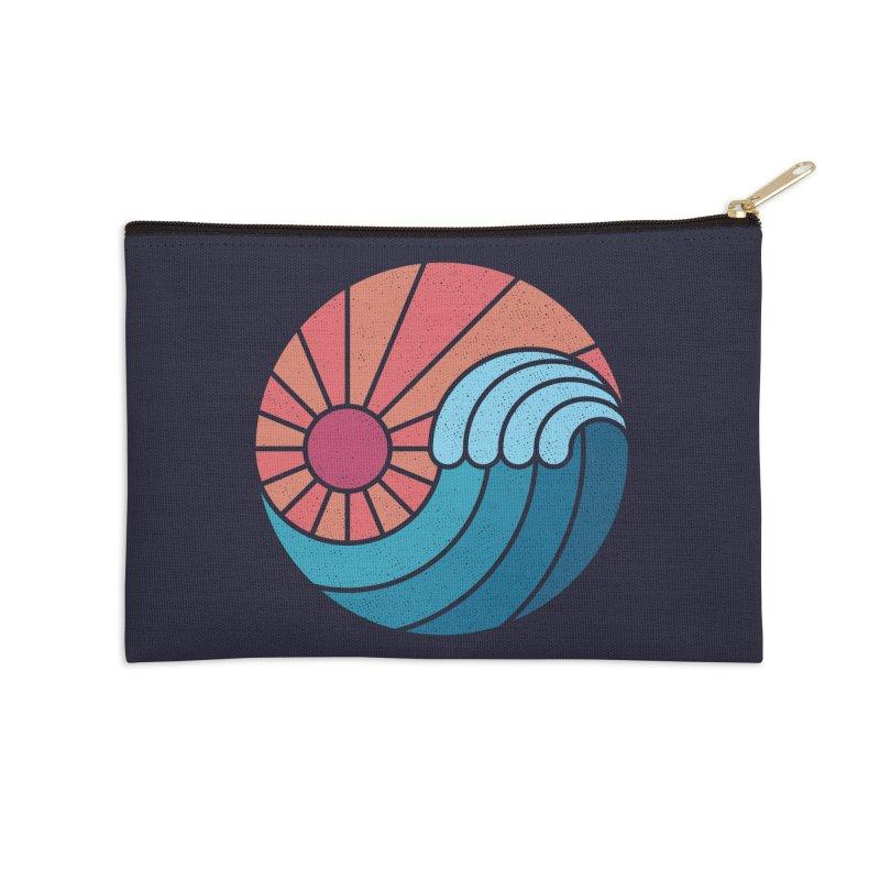 Sun & Sea Accessories Zip Pouch by thepapercrane's shop