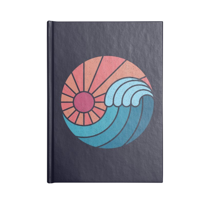 Sun & Sea Accessories Notebook by thepapercrane's shop