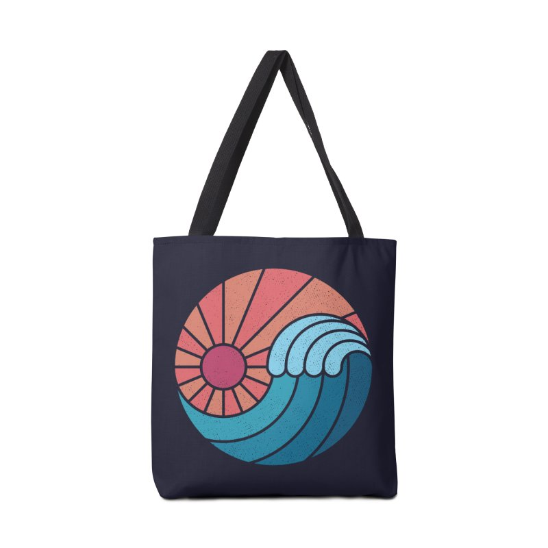 Sun & Sea Accessories Tote Bag Bag by thepapercrane's shop