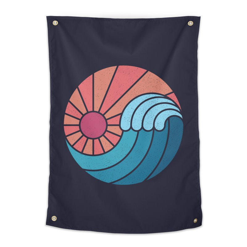 Sun & Sea Home Tapestry by thepapercrane's shop