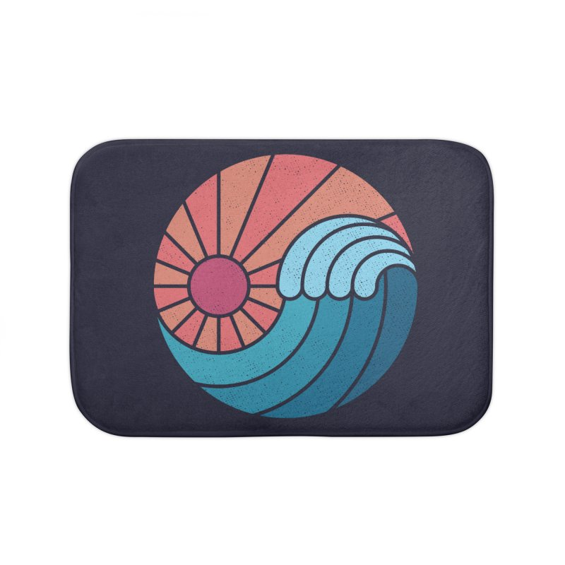 Sun & Sea Home Bath Mat by thepapercrane's shop