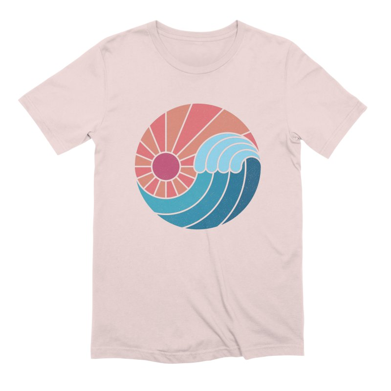 Sun & Sea Men's Extra Soft T-Shirt by thepapercrane's shop