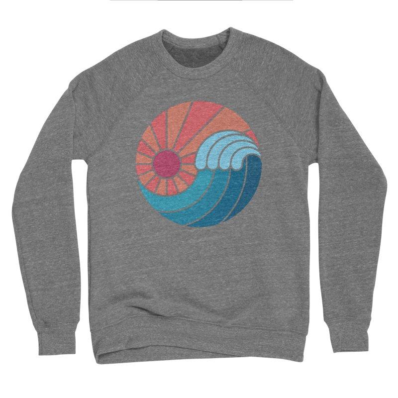 Sun & Sea Women's Sponge Fleece Sweatshirt by thepapercrane's shop