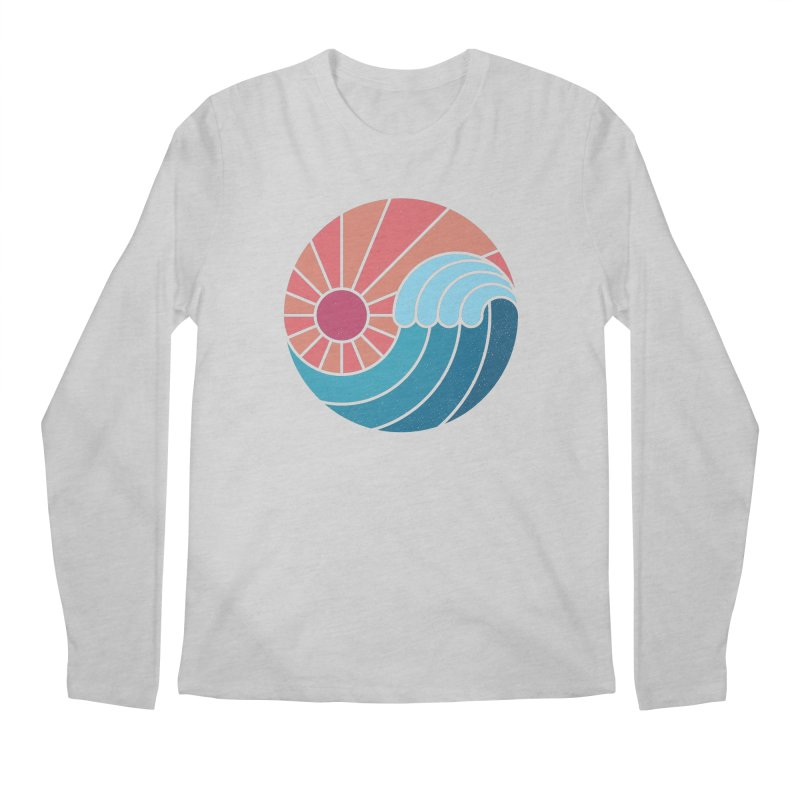 Sun & Sea Men's Longsleeve T-Shirt by thepapercrane's shop