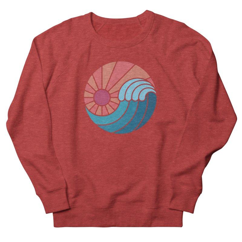 Sun & Sea Men's Sweatshirt by thepapercrane's shop
