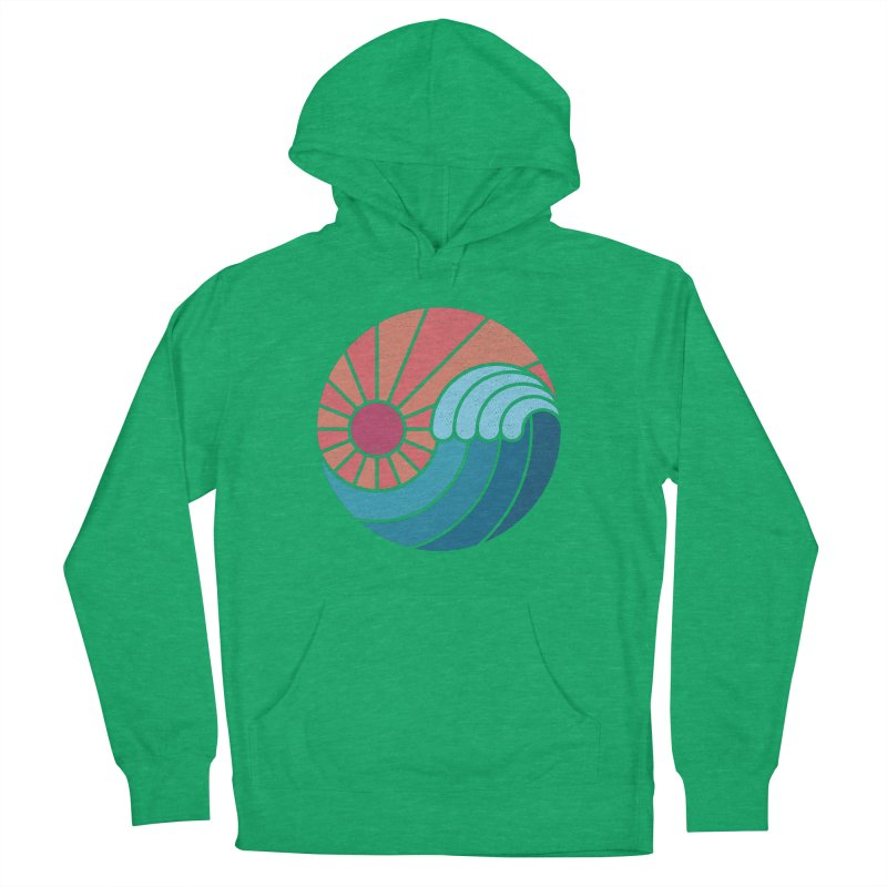 Sun & Sea Women's French Terry Pullover Hoody by thepapercrane's shop