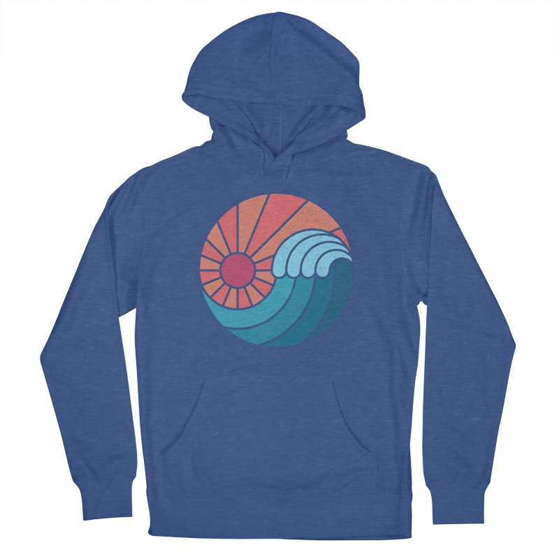 Sun & Sea Men's French Terry Pullover Hoody by thepapercrane's shop