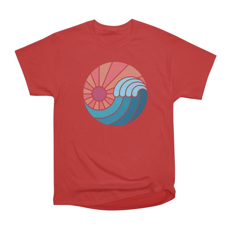 Sun & Sea Men's Heavyweight T-Shirt by thepapercrane's shop