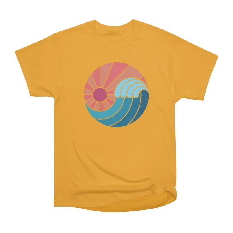 Sun & Sea Women's Heavyweight Unisex T-Shirt by thepapercrane's shop
