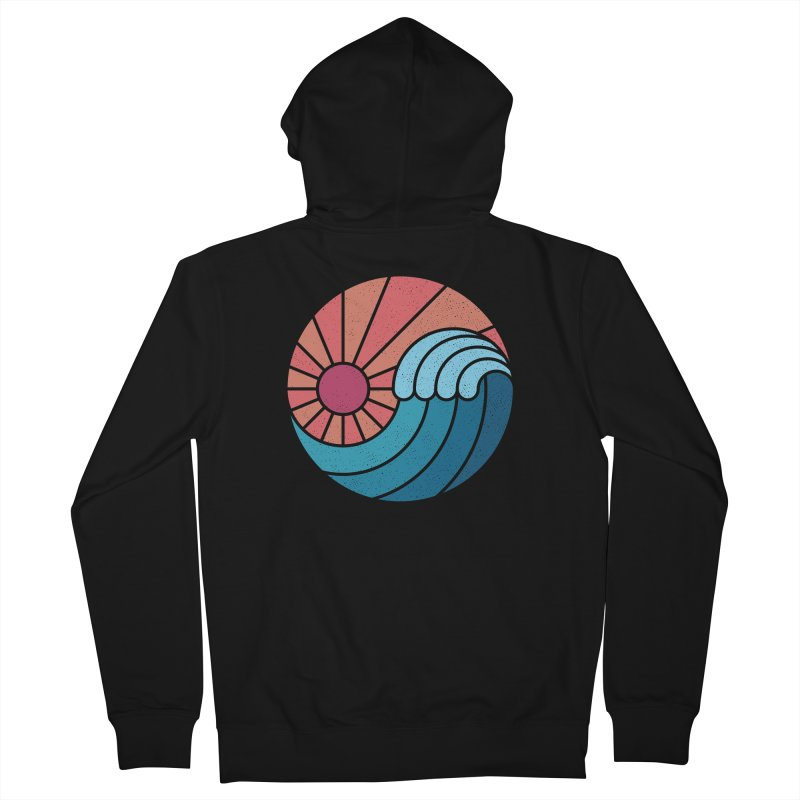 Sun & Sea Women's French Terry Zip-Up Hoody by thepapercrane's shop
