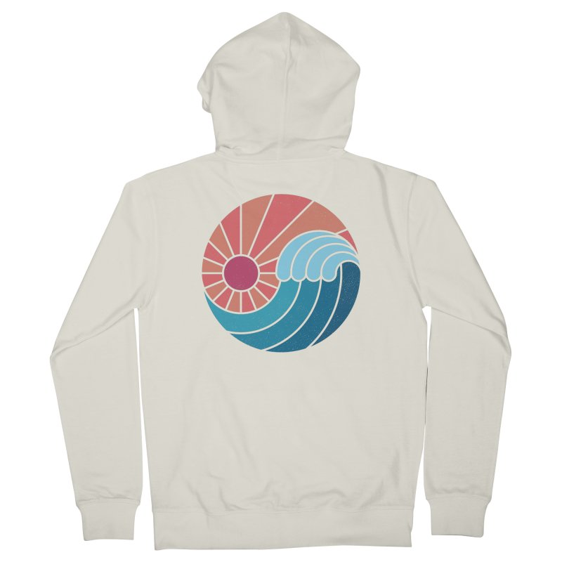 Sun & Sea Men's French Terry Zip-Up Hoody by thepapercrane's shop