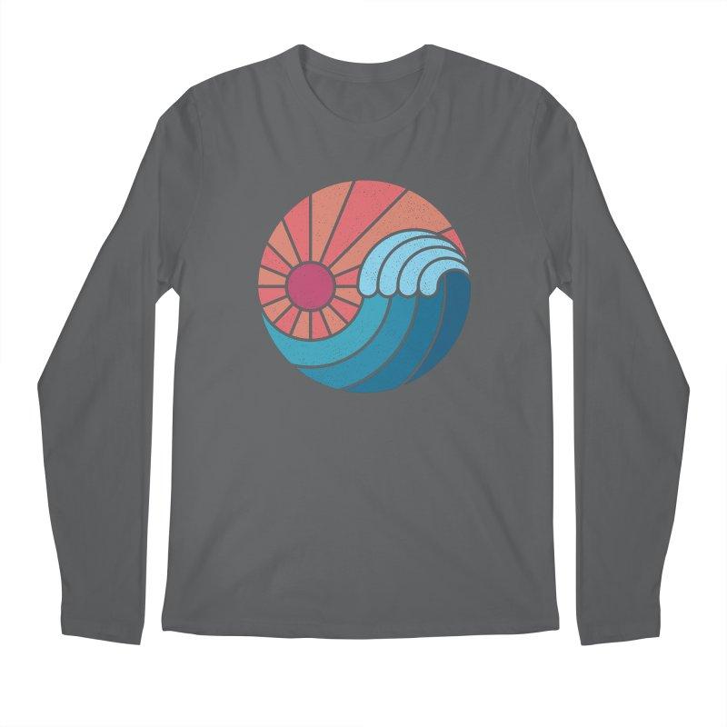 Sun & Sea Men's Regular Longsleeve T-Shirt by thepapercrane's shop