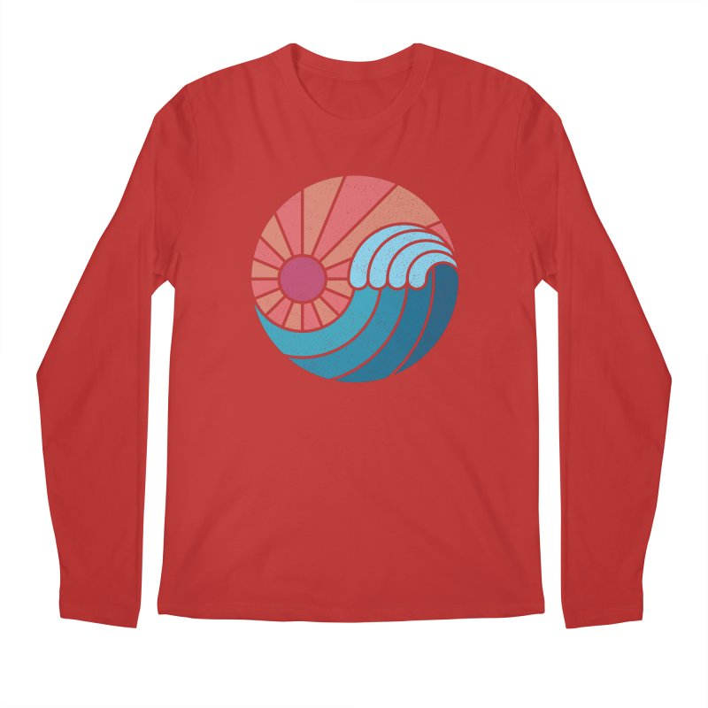 Sun & Sea Men's Regular Longsleeve T-Shirt by thepapercrane's shop