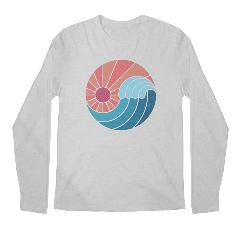 Sun & Sea Men's Longsleeve T-Shirt by thepapercrane's shop