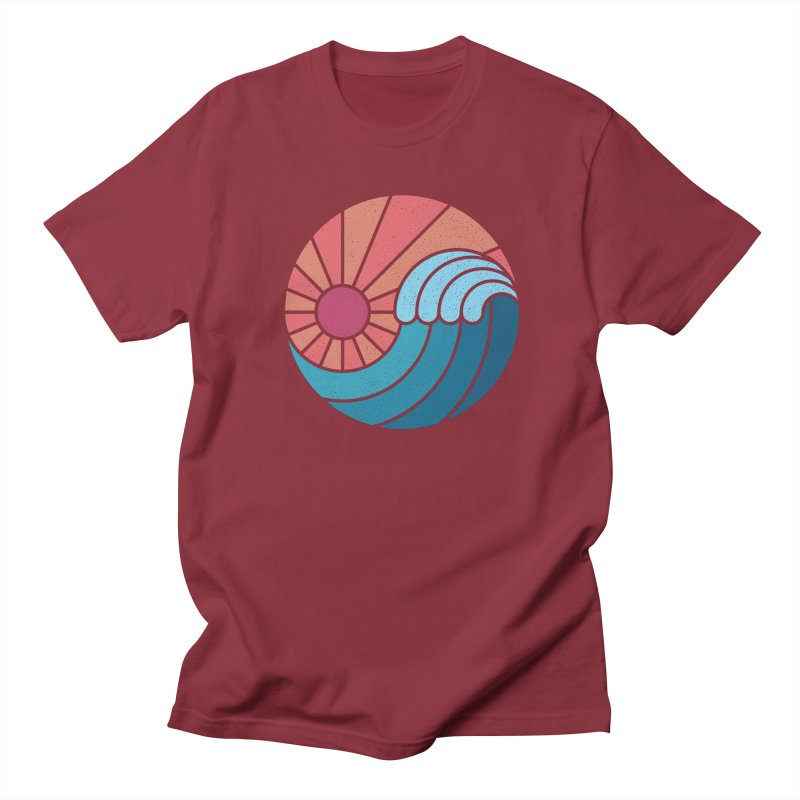 Sun & Sea Women's Regular Unisex T-Shirt by thepapercrane's shop