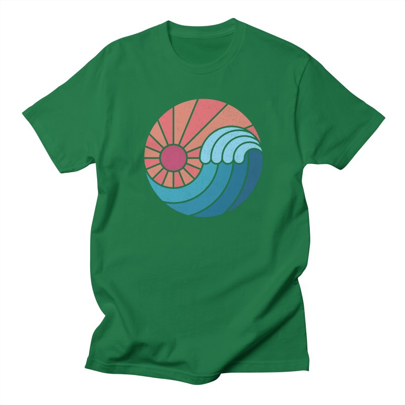 Sun & Sea Men's Regular T-Shirt by thepapercrane's shop