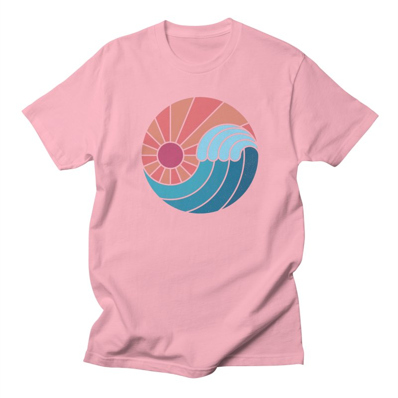 Sun & Sea Men's Regular T-Shirt by thepapercrane's shop