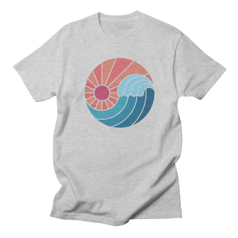 Sun & Sea Men's T-Shirt by thepapercrane's shop
