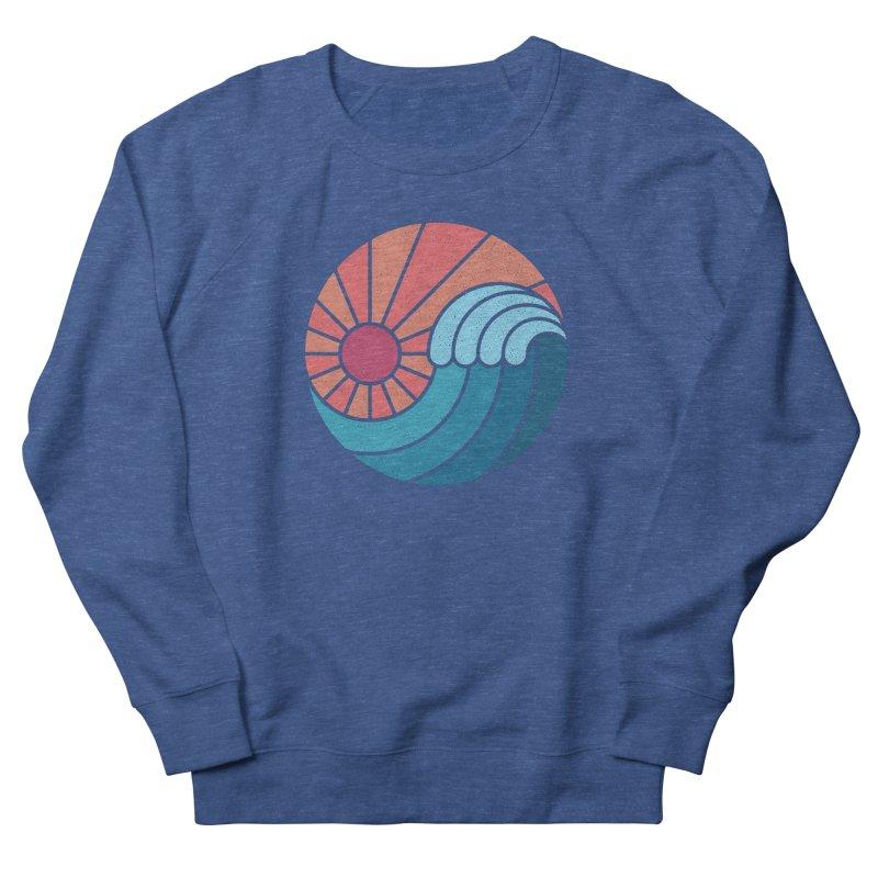 Sun & Sea Women's French Terry Sweatshirt by thepapercrane's shop