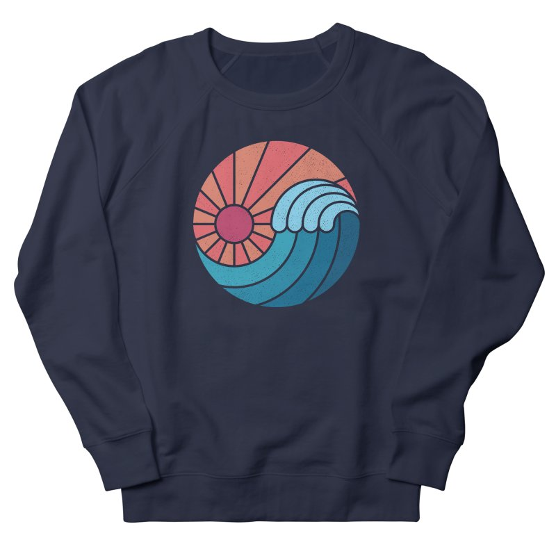Sun & Sea Women's French Terry Sweatshirt by thepapercrane's shop