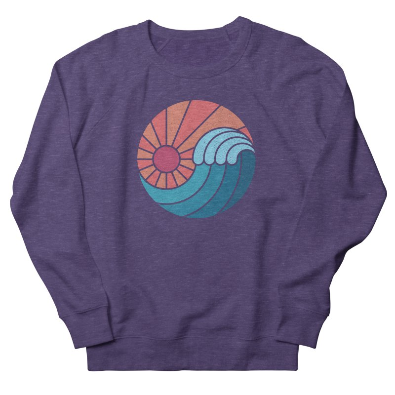 Sun & Sea Men's Sweatshirt by thepapercrane's shop