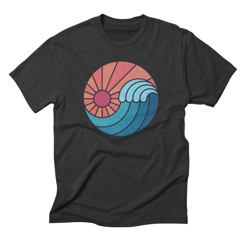 Sun & Sea Men's Triblend T-Shirt by thepapercrane's shop