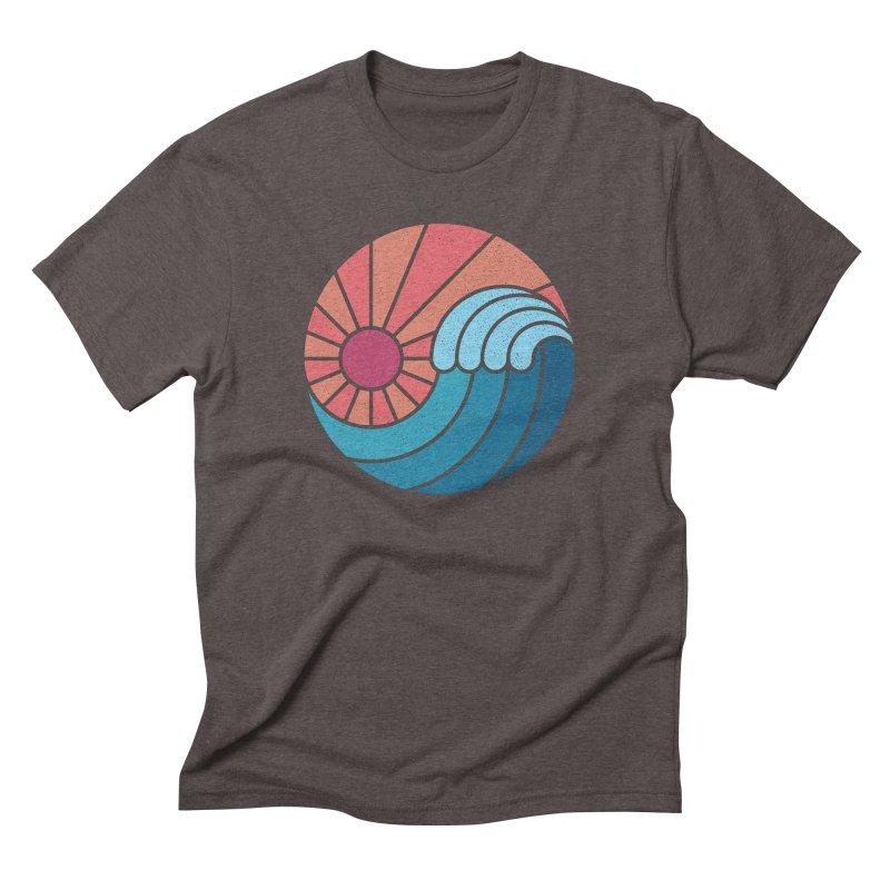 Sun & Sea Men's Triblend T-Shirt by thepapercrane's shop