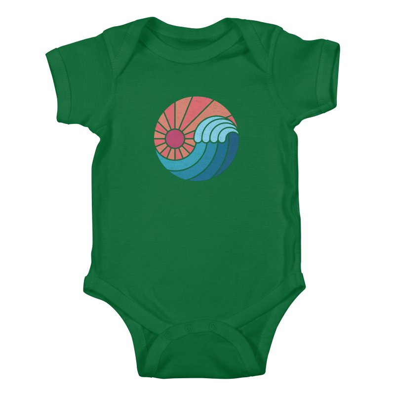 Sun & Sea Kids Baby Bodysuit by thepapercrane's shop