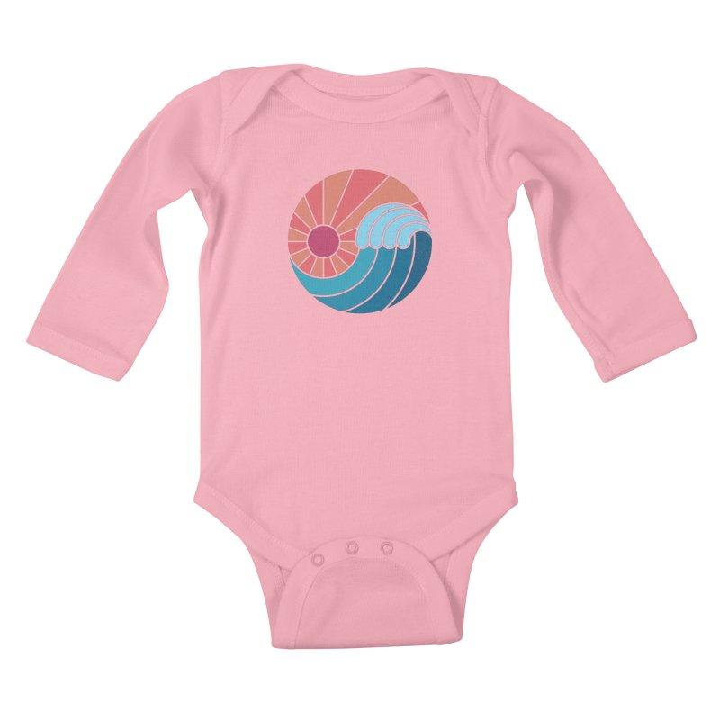 Sun & Sea Kids Baby Longsleeve Bodysuit by thepapercrane's shop