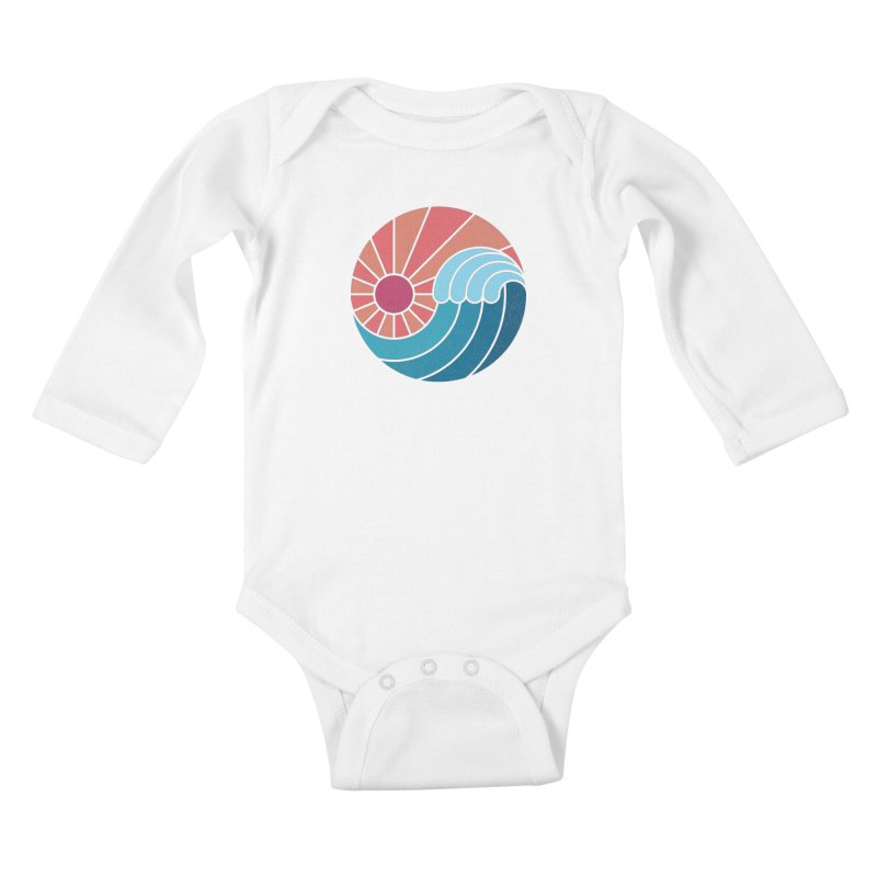 Sun & Sea Kids Baby Longsleeve Bodysuit by thepapercrane's shop