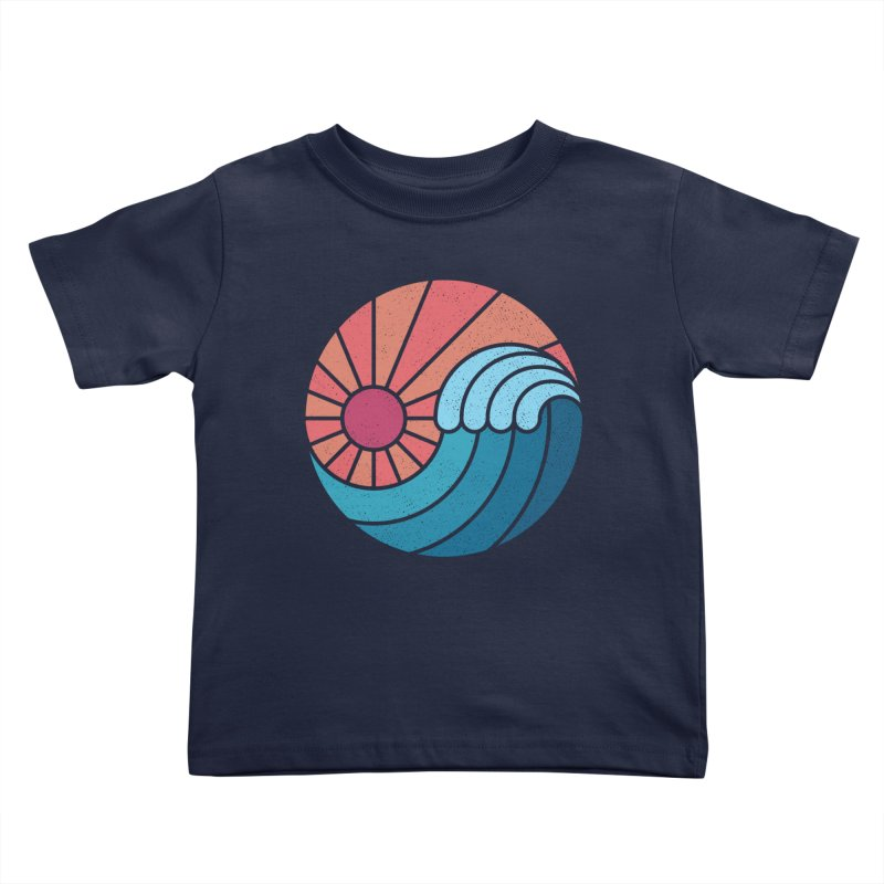 Sun & Sea Kids Toddler T-Shirt by thepapercrane's shop