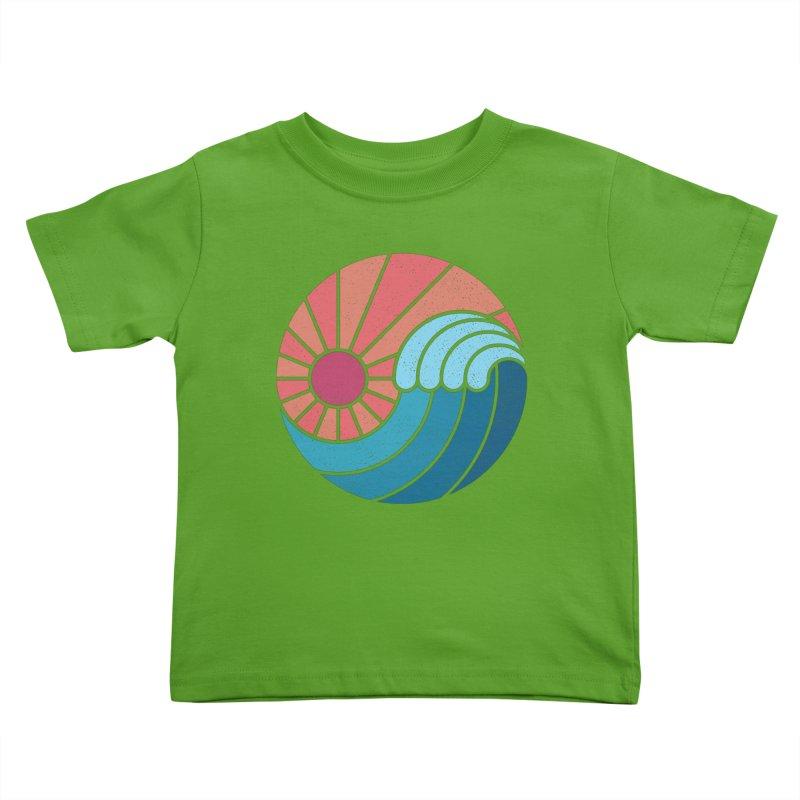 Sun & Sea Kids Toddler T-Shirt by thepapercrane's shop