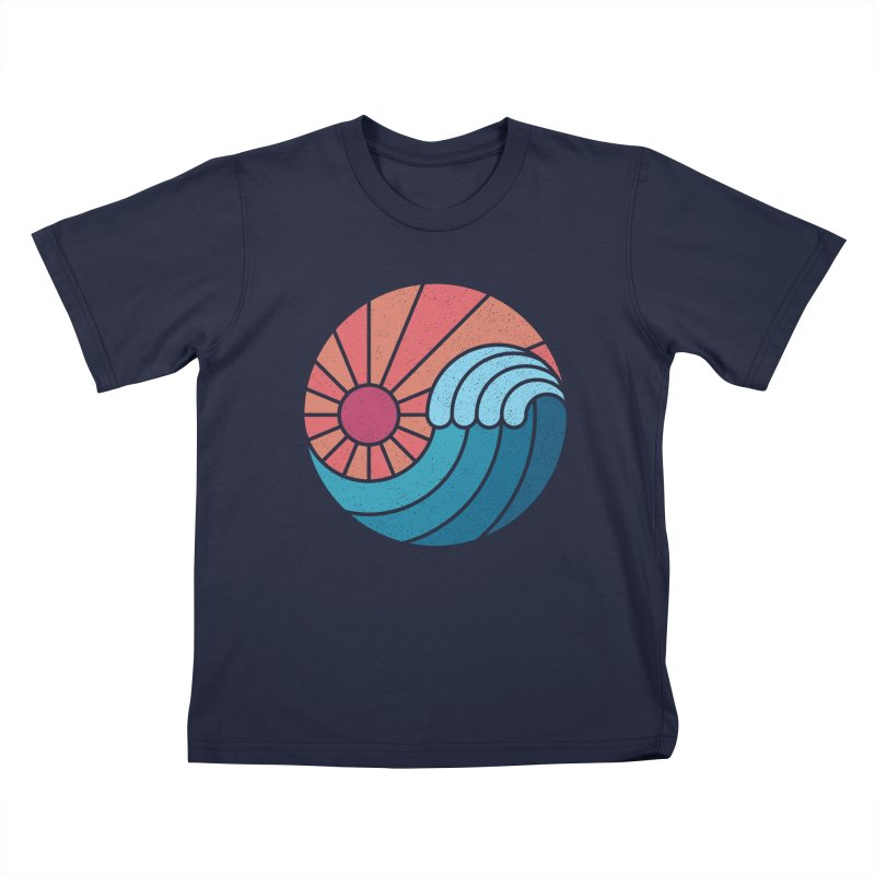 Sun & Sea Kids T-Shirt by thepapercrane's shop