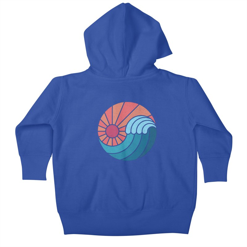 Sun & Sea Kids Baby Zip-Up Hoody by thepapercrane's shop