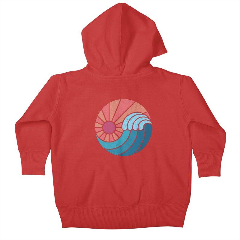 Sun & Sea Kids Baby Zip-Up Hoody by thepapercrane's shop
