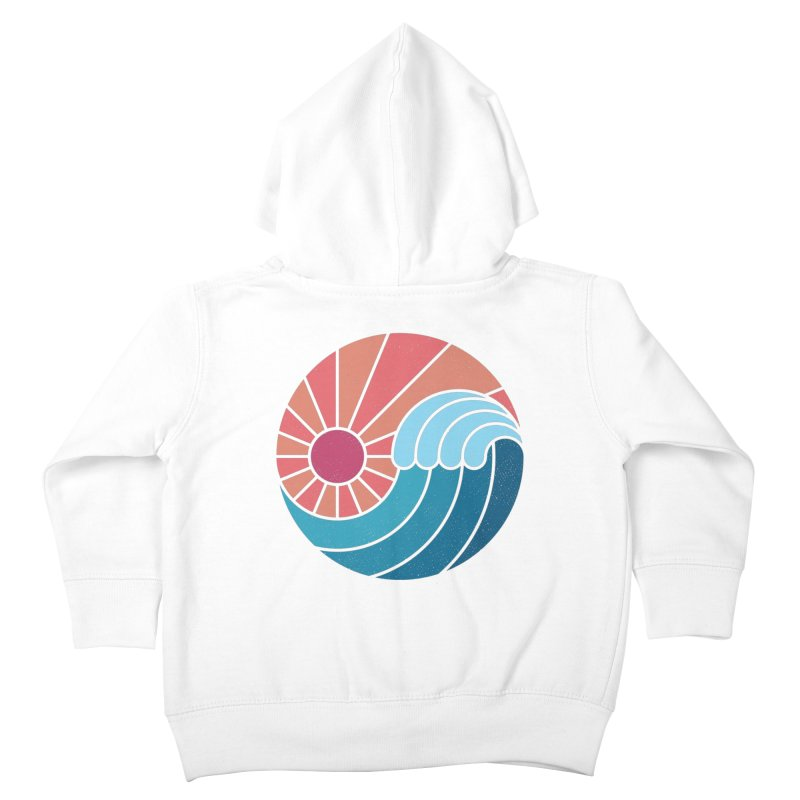 Sun & Sea Kids Toddler Zip-Up Hoody by thepapercrane's shop