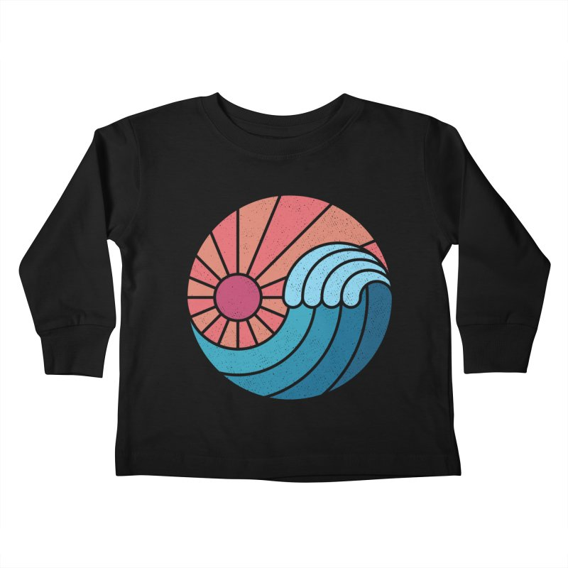 Sun & Sea Kids Toddler Longsleeve T-Shirt by thepapercrane's shop