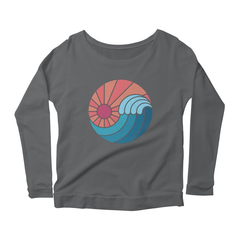 Sun & Sea Women's Scoop Neck Longsleeve T-Shirt by thepapercrane's shop