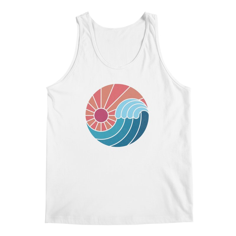 Sun & Sea Men's Regular Tank by thepapercrane's shop
