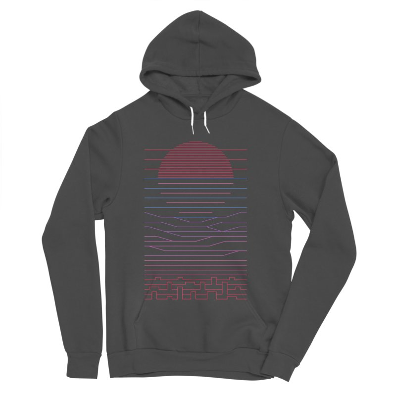 Leave The City For The Sea Women's Sponge Fleece Pullover Hoody by thepapercrane's shop