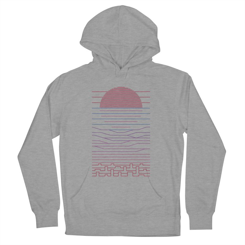 Leave The City For The Sea Men's Pullover Hoody by thepapercrane's shop