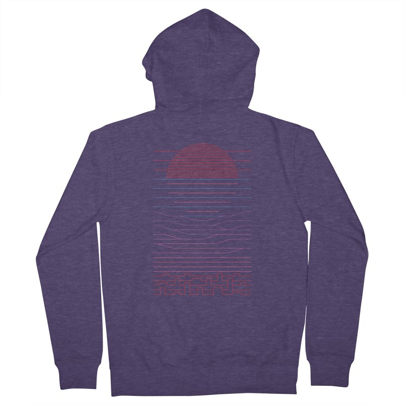 Leave The City For The Sea Men's Zip-Up Hoody by thepapercrane's shop